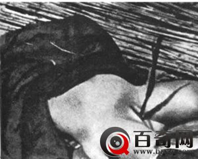 惨不忍睹日军凌辱中国妇女尸体