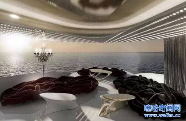 世界最贵游艇300亿美元全长140米堪比一个半足球场
